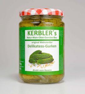 Bild von Kerblers Delikatess-Gurken
