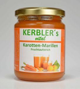 Bild von Kerblers Karotten-Marillen-Fruchtaufstrich