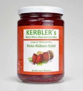 Bild von Kerblers Rote-Rüben-Salat